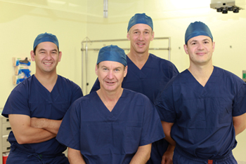 Orthocentre team includes Dr. Allen Turnbull, Dr. Michael Dixon, Dr. Anthony Leong, Dr. John Trantalis